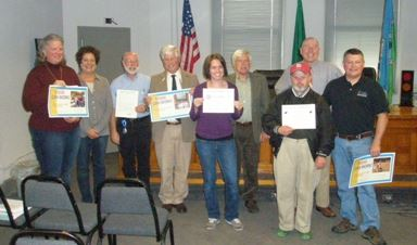 National Disability Employment Month is celebrated at the Board of County Commissioners meeting.