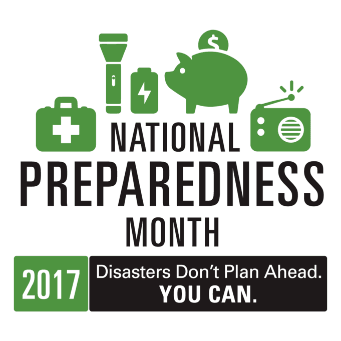 Logo and link to Read.gov page highlighting National Preparedness Month